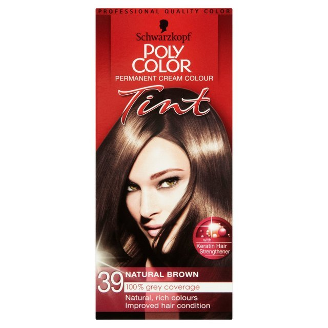 Schwarzkopf Poly Colour 39 Natural Brown