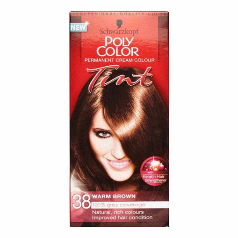 Schwarzkopf Poly Colour 38 Warm Brown