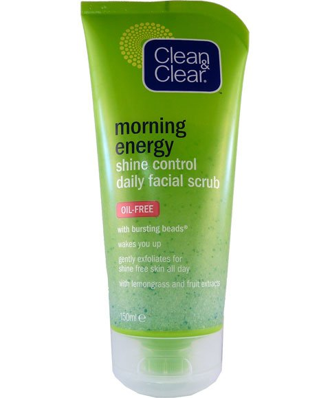 Clean & Clear Morning Energy Shine Control Daily Facial Scrub