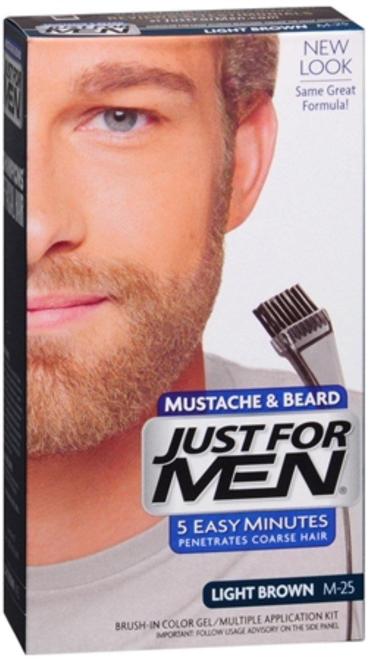 Just for Men Moustache & Beard M-25Light Brown