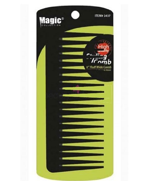 "Magic Collection Styling Comb 6"" Fluff Comb-2437"