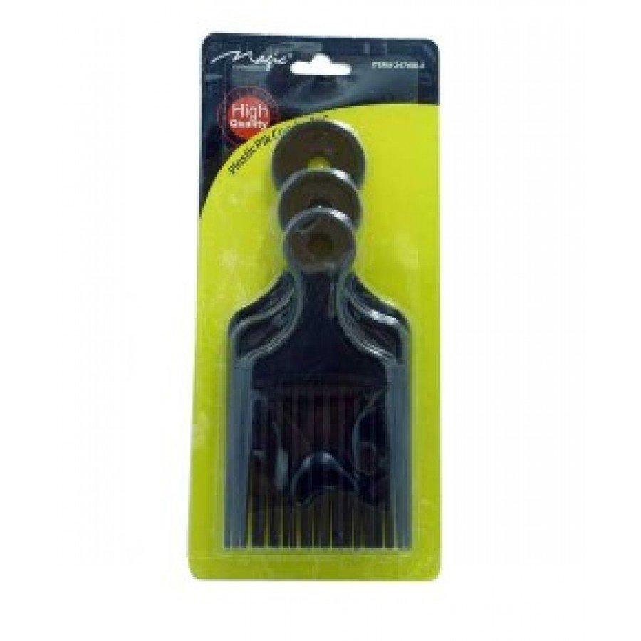 Magic Collection Plastic Pik Comb- 3pc 2470