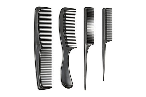 Eden Professional Quality Styling 4pcs Comb set-20004BLA
