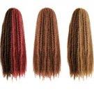 Afro Kinky Twist Braid Color 2(Dark Brown)