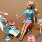 Mattel Dentist Barbie Doll set used condition with sound