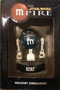 """The Star Wars mPire R2D2 M&M Holiday Ornament 3"""""""