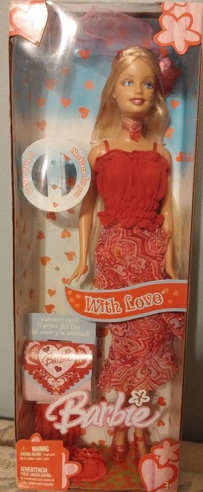 2005 Mattel Barbie with Love 027084268225