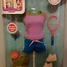 2009 Mattel Doras Explorer Girls Sports for Styles Outfit 027084712391
