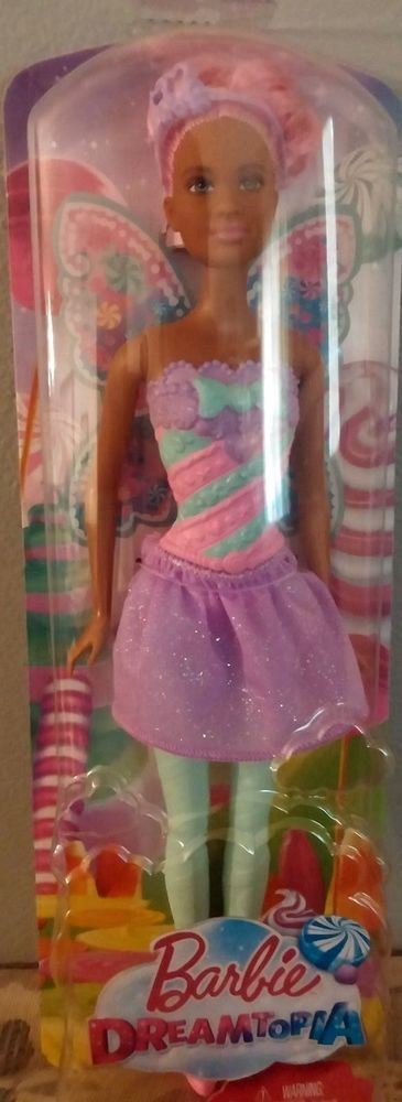 Mattel 2016 Barbie Dreamtopia Fairy Candy Doll NIB 887961458183