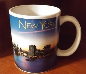 """New York Souvenir Cup in great shape 4"""""""