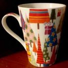 "Barnes and Nobles Holiday Tree Mug 4 3/4"" never used in great shape"