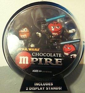 Star Wars M&M Chocolate mPire Anakin Skywalker & Emperor Palpatine Hol Ornament