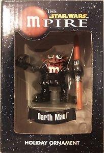 "The Star Wars mPire Darth Maul Red Holiday Ornament 3"""