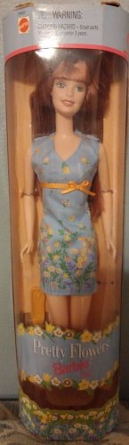 1999 Mattel Pretty Flowers Barbie Doll 074299246555