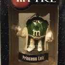 The Star Wars mPire Princess Leia M&M Holiday Ornament 3""