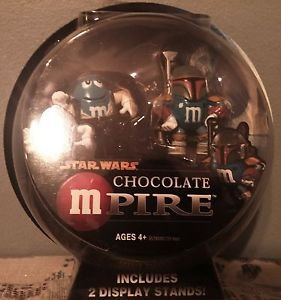 Star Wars mPire Boba Fett & Han Solo M&M Holiday Ornament 2""