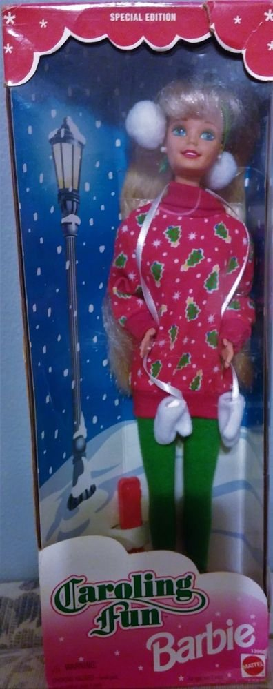 1995 Mattel Special Edition Caroling Fun Barbie