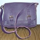 Jazza Brand Purple Mix Shoudler Leather Bag Pre owned in mint condition
