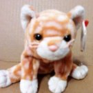 TY Beanie Baby Amber Cat used with tag