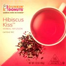 Dunkin Donuts Hibiscus Kiss Herbal Infusion Tea With 15 tea bags