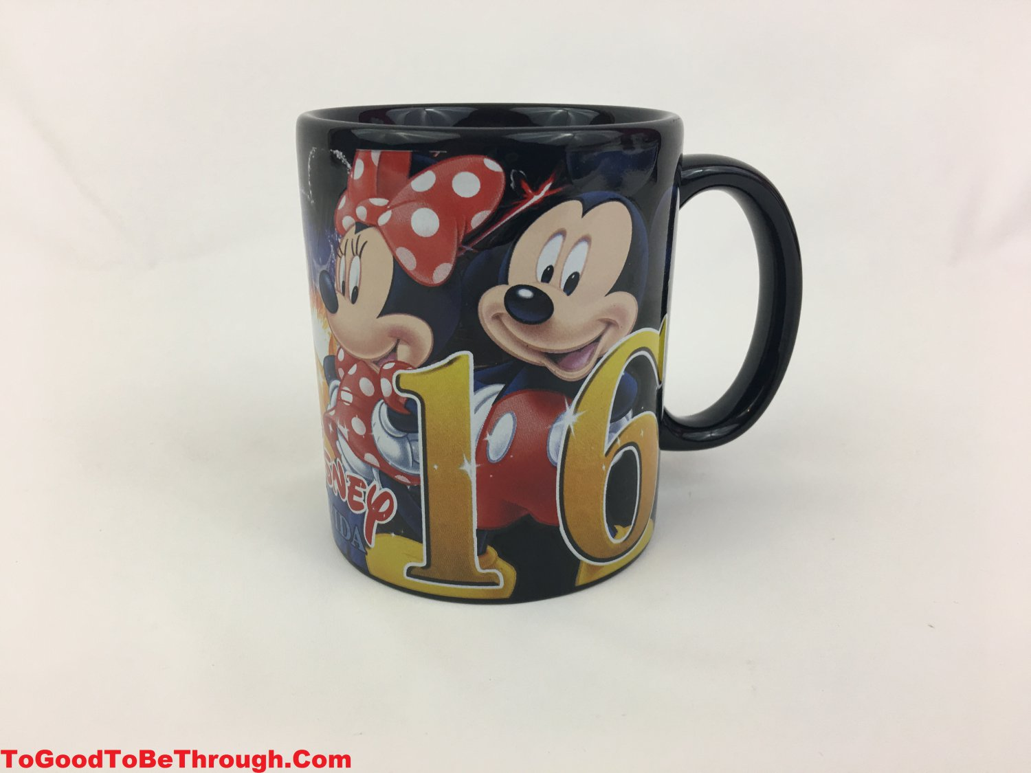 "Disney ""Florida"" 2016 Jerry Leigh  Mickey Minnie Pluto Donald Goofy Mug"