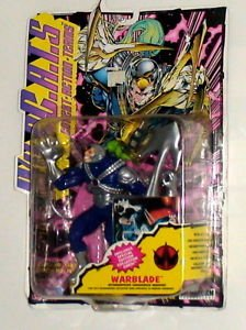 WildCATS Warblade Action Figure From Playmates