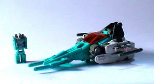 Transformers G1Brainstorm with Arcana Head Master and weapons loose Hasbro