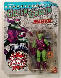 Marvel Super Heroes Green Goblin Comics Toy Biz Figure 1991