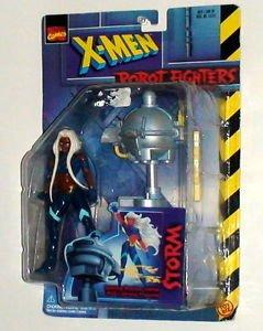 Storm  X-Men Robot Fighters Short Hair Marvel Toy Biz 1997