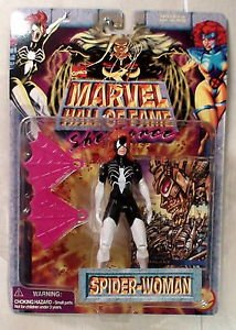 Spider Woman Marvel Super Hero Hall of Fame She Force action figure Toy Biz 1996