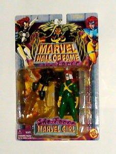 Marvel Girl Super Hero Hall of Fame She Force action figure Toy Biz 1996