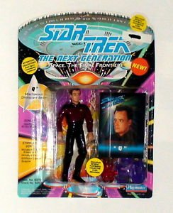 "Star Trek The Next Generation "" Q "" Playmates Figure 1993"