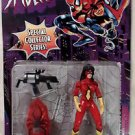 Spider Woman Black Widow Assault Gear Toy Biz 1996 Collector Series