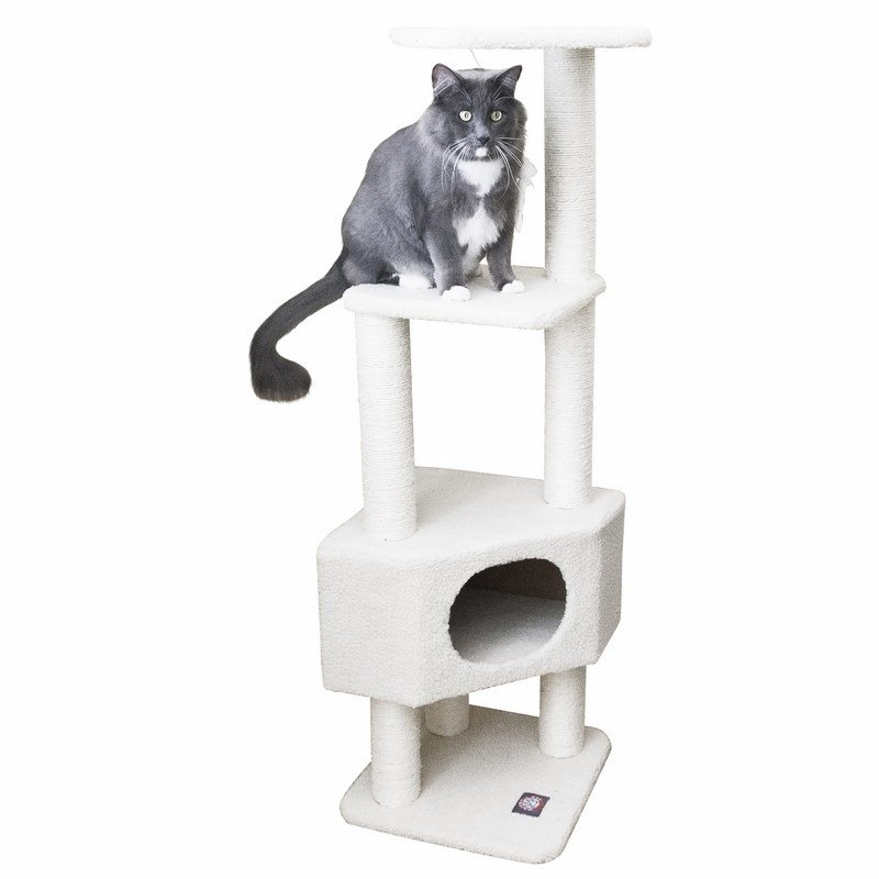 Majestic Pet Products 52 inches Bungalow Cat Tree