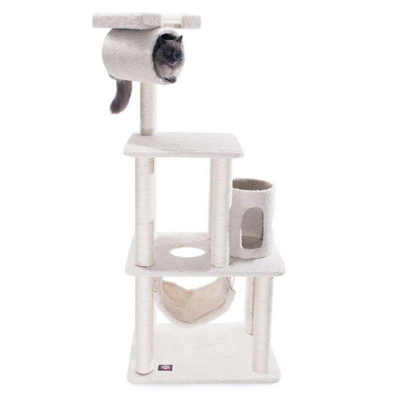 Majestic Pet Products 62 inches Bungalow Cat Tree