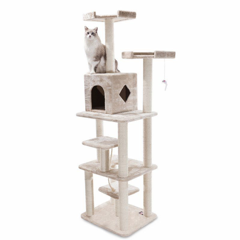 Majestic Pet Products 78 inches Casita Cat Tree