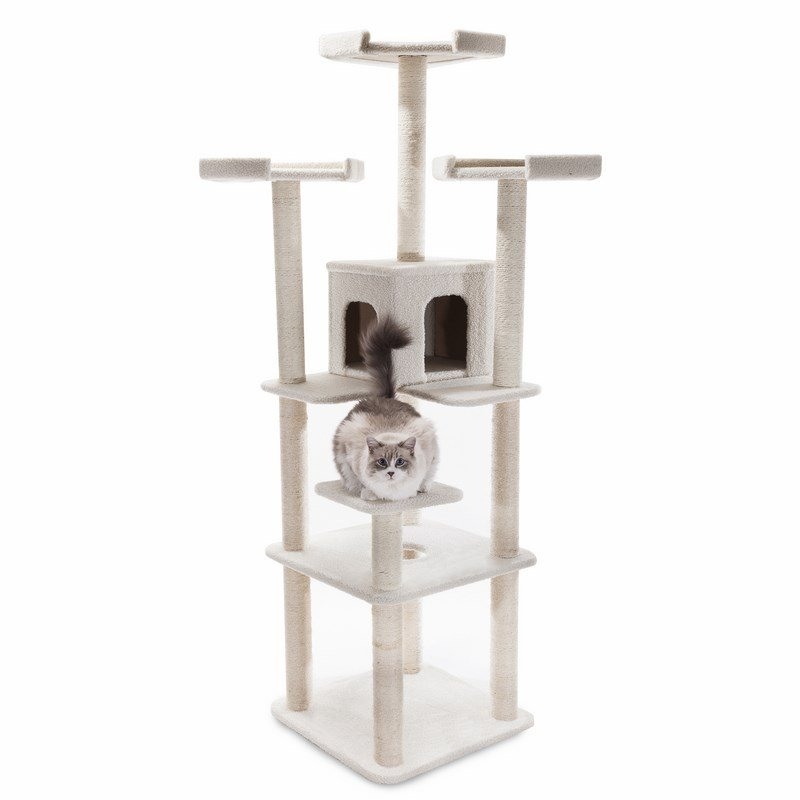 Majestic Pet Products 80 inches Bungalow Cat Tree