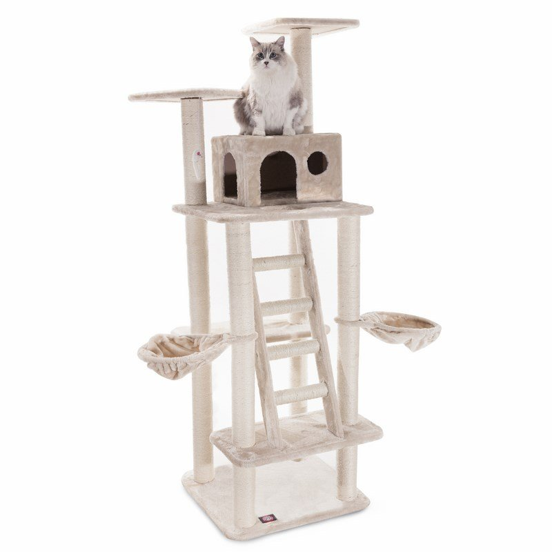 Majestic Pet Products 72 inches Casita Cat Tree