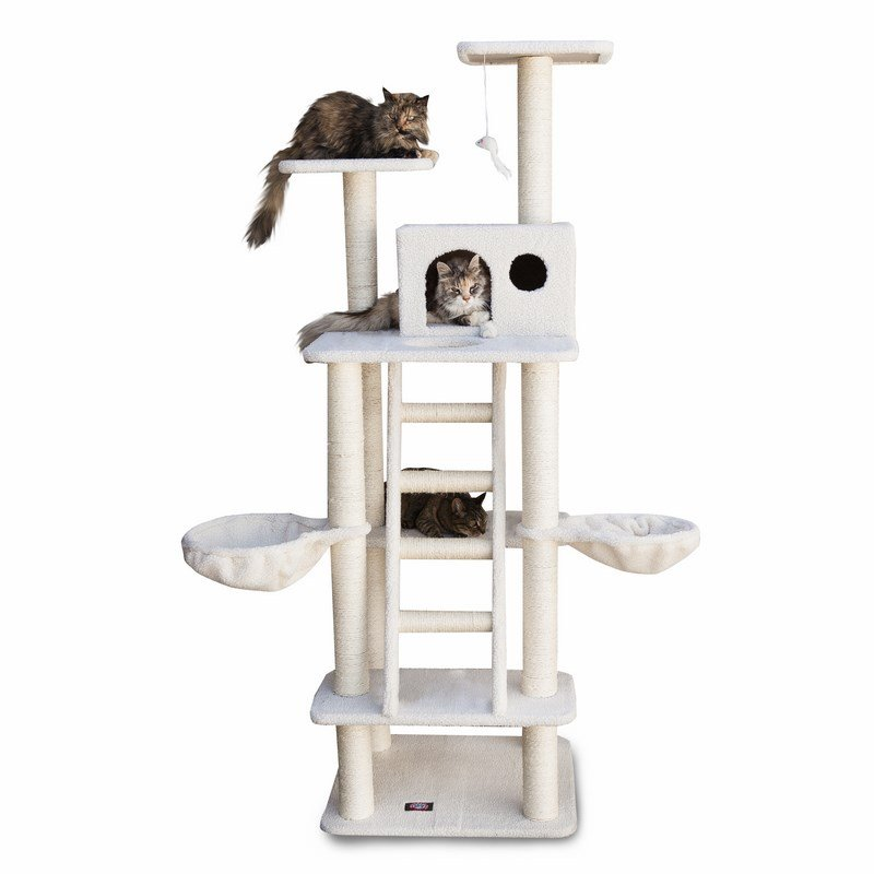 Majestic Pet Products 72 inches Bungalow Cat Tree