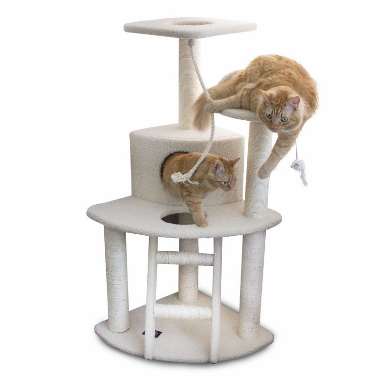 Majestic Pet Products 48 inches Bungalow Cat Tree