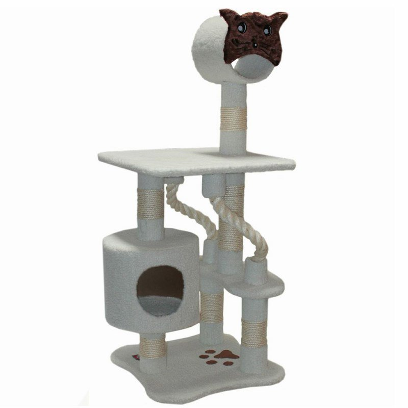Majestic Pet Products 49 inches Bungalow Cat Tree