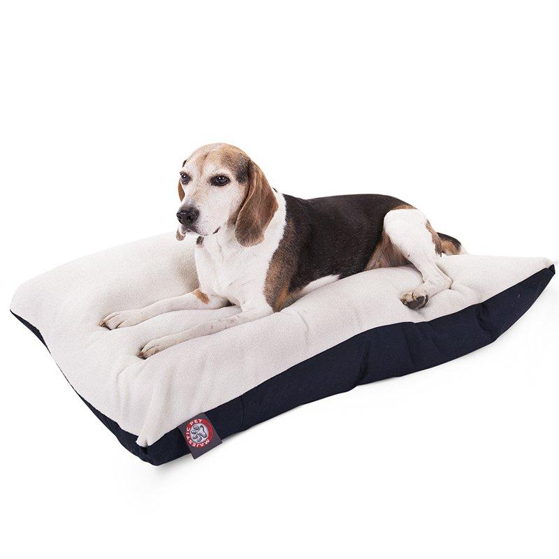 Majestic Pet Products 30x40 Blue Rectangle Dog Bed-Medium