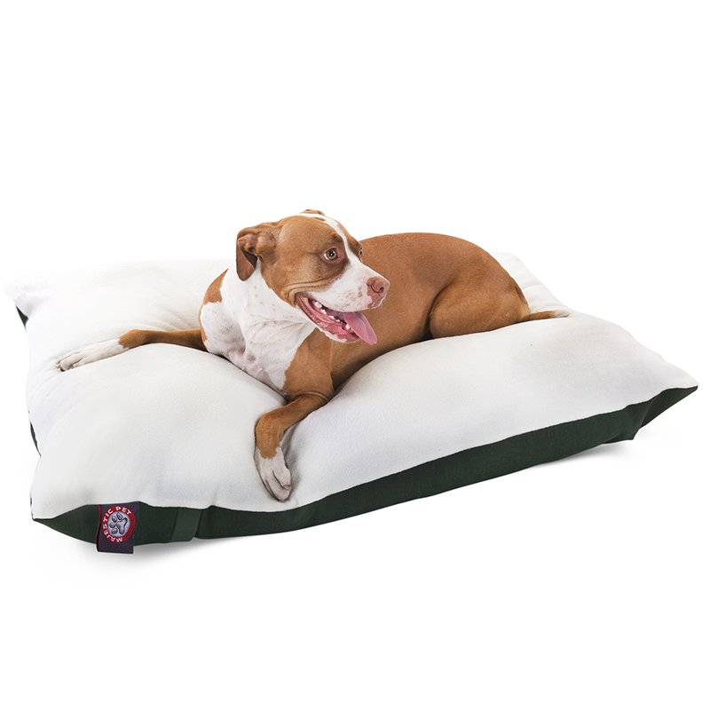 Majestic Pet Products 36x48 Green Rectangle Dog Bed- Large