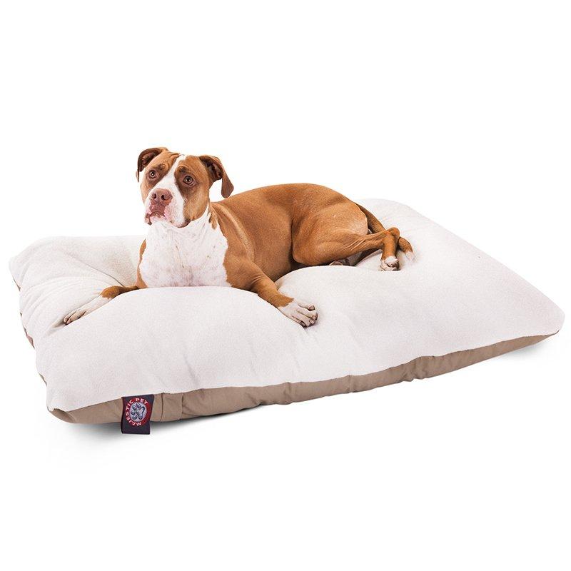 Majestic Pet Products 36x48 Khaki Rectangle Dog Bed- Large