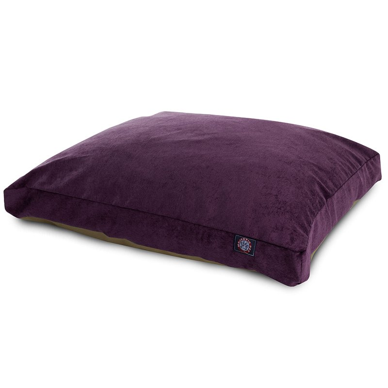 Majestic Pet Products Aubergine Villa Collection Extra Large Rectangle Dog Bed