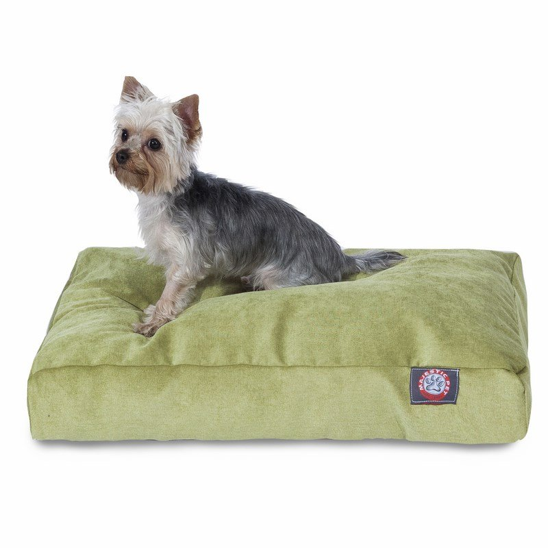 Majestic Pet Products Apple Villa Collection Small Rectangle Dog Bed