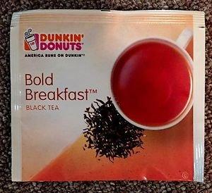 Dunkin Donuts Bold Breakfast Black Tea Box With 50 tea bags