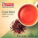Dunkin Donuts Cool Mint Herbal Infusion Tea With 15 tea bags