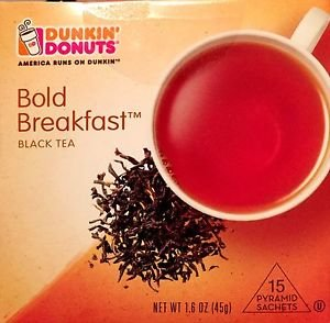 Dunkin Donuts Bold Breakfast Black Tea With 15 tea bags