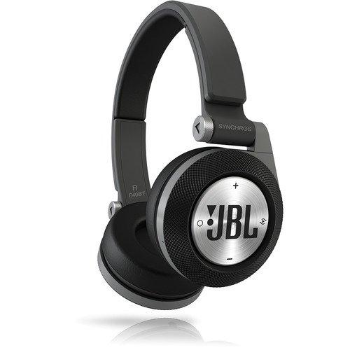 JBL Black Synchros E40BT Bluetooth On-Ear Headphones